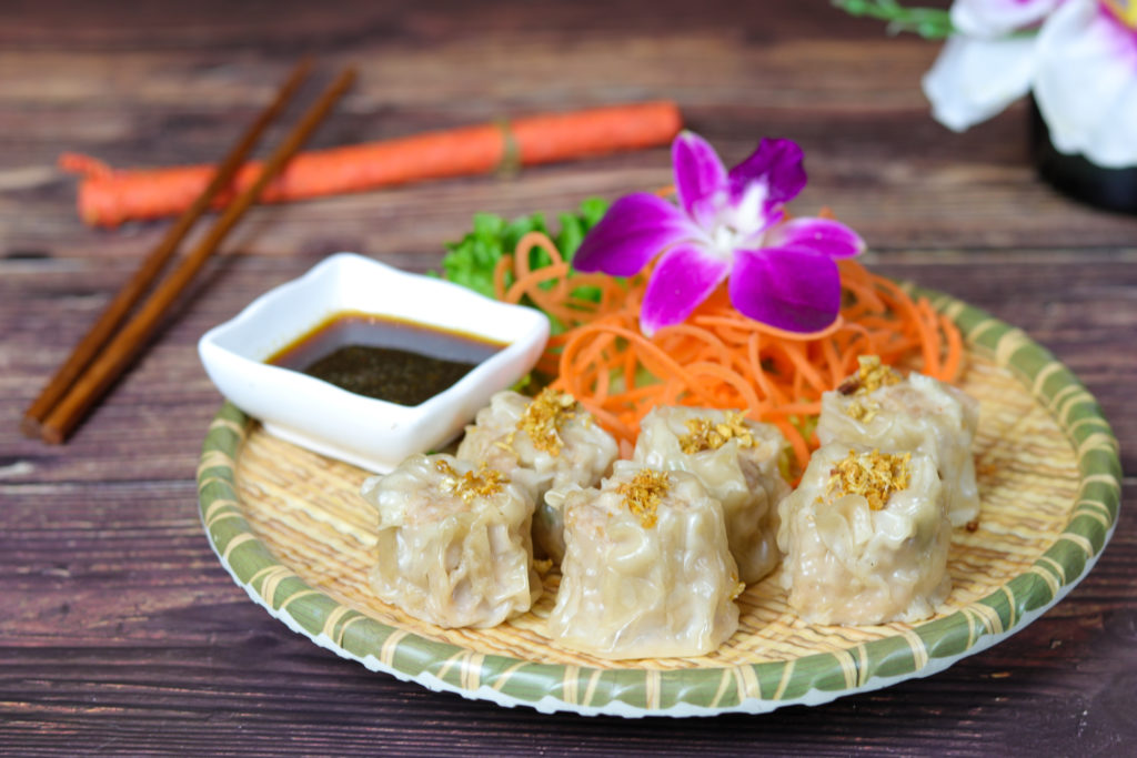 Flirty Dumplings at the Baan Thai cuisine