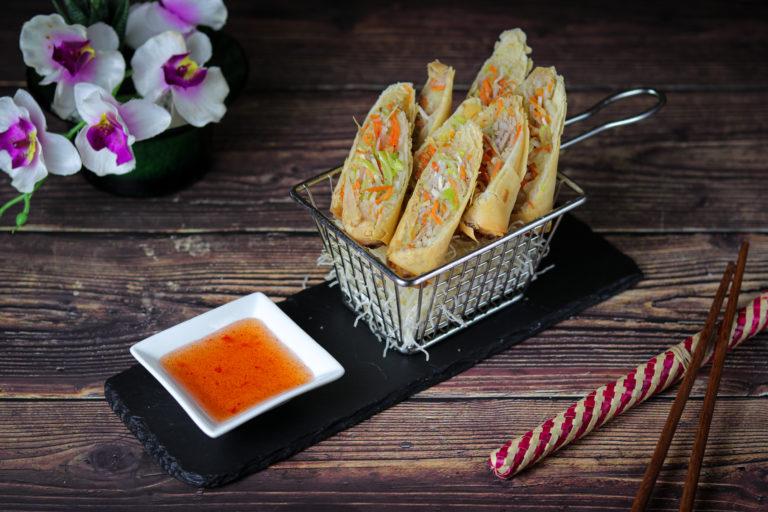 Crispy Roll at The Baan Thai cuisine