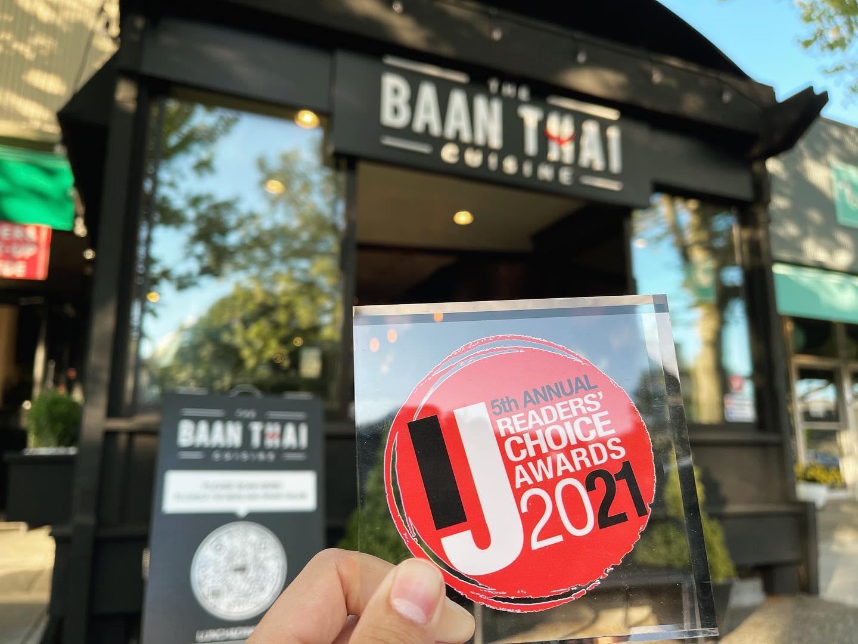 the Baan Thai cuisine in San Anselmo