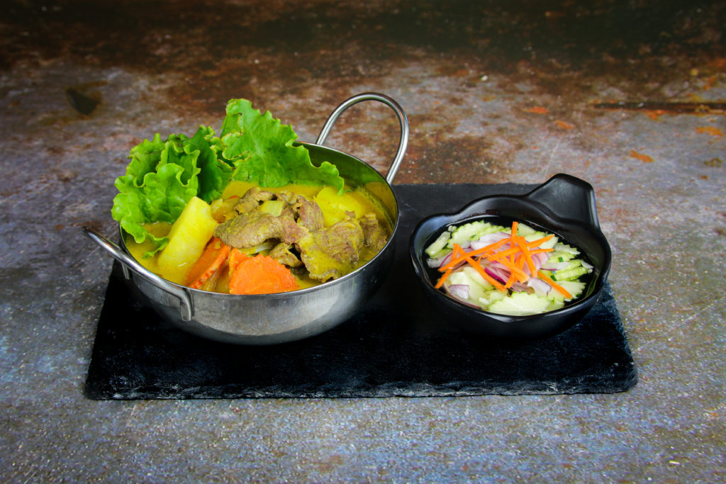 Hello My Lamb at the Baan Thai cuisine